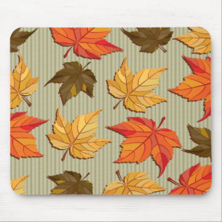 Autum Leaves Graphic 1A Mousepad