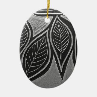 Autum Meeting Ceramic Ornament