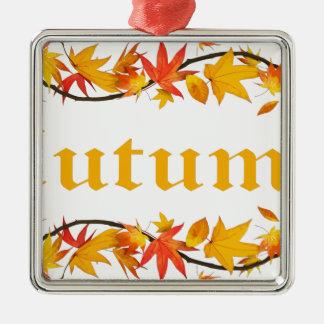 Autumn2 Metal Ornament