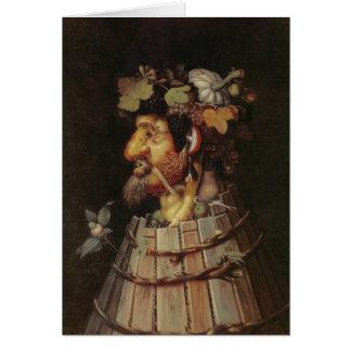 Autumn - 1573 - Arcimboldo Card
