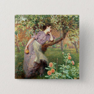 Autumn, 1865 pinback button