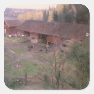 Autumn, 1891 sticker