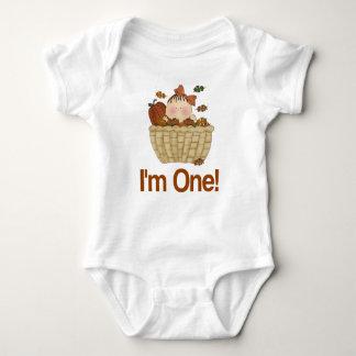 Autumn 1st Birthday Baby T-shirt