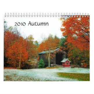 Autumn 2012 calendar