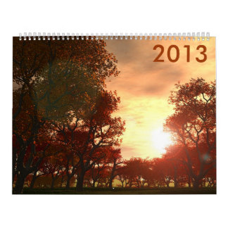 Autumn 2013 calendar