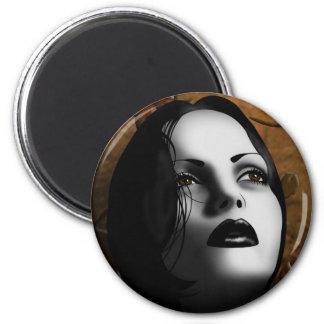 Autumn 2 Inch Round Magnet