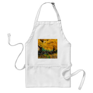 Autumn A Golden Season In New England Adult Apron