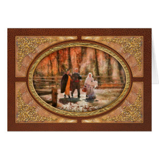 Autumn - A walk in the countryside Card