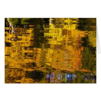 Autumn Abstract Card