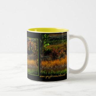 Autumn Abstract Coffee and Tea Mug
