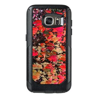 Autumn Abstract in Red OtterBox Galaxy S7 Case