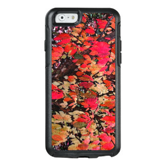 Autumn Abstract in Red OtterBox iPhone 6/6s Case