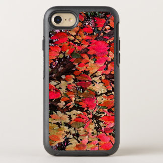Autumn Abstract in Red OtterBox Symmetry iPhone 7 Case