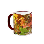 Autumn Abstract Mug