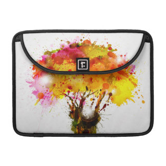 Autumn Abstract Tree Forming By Blots Sleeve For MacBook Pro
