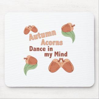Autumn Acorns Mouse Pad