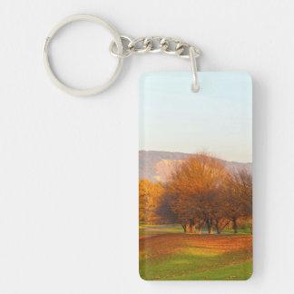 Autumn Acrylic Keychain