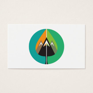 autumn adventures business card