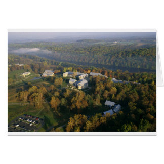 AUTUMN AERIAL OF THE NATIONAL CONSERVATION TRAININ CARD