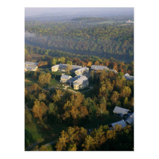 AUTUMN AERIAL OF THE NATIONAL CONSERVATION TRAININ POSTCARD