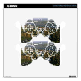 AUTUMN AERIAL OF THE NATIONAL CONSERVATION TRAININ PS3 CONTROLLER DECAL