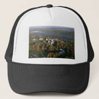 AUTUMN AERIAL OF THE NATIONAL CONSERVATION TRAININ TRUCKER HAT