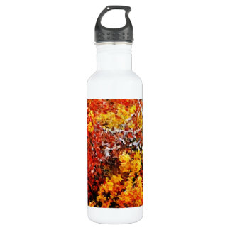 Autumn Afternoon #2 - Painting Art  Stainless Steel Water Bottle