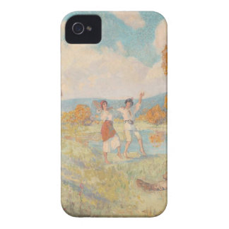 Autumn Allegory (The Art and The Wine) by Nicolae iPhone 4 Covers