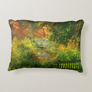 Autumn - Alone with your thoughts Accent Pillow