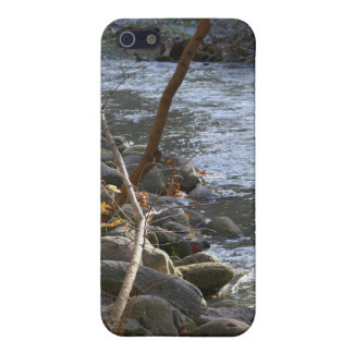 Autumn Along Pikes Creek iPhone SE/5/5s Cover