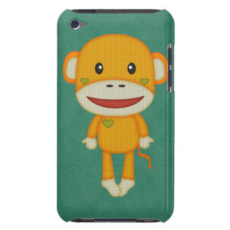 Autumn and Fall Retro Sock Monkey iPod Touch Case-Mate Case