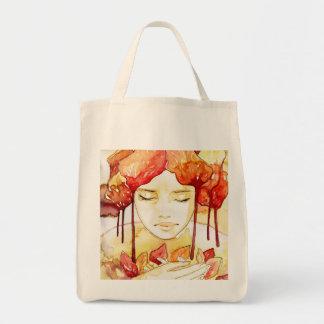 autumn and  portrait canvas bags