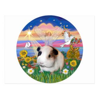 Autumn Angel - Guinea Pig 1 Postcard