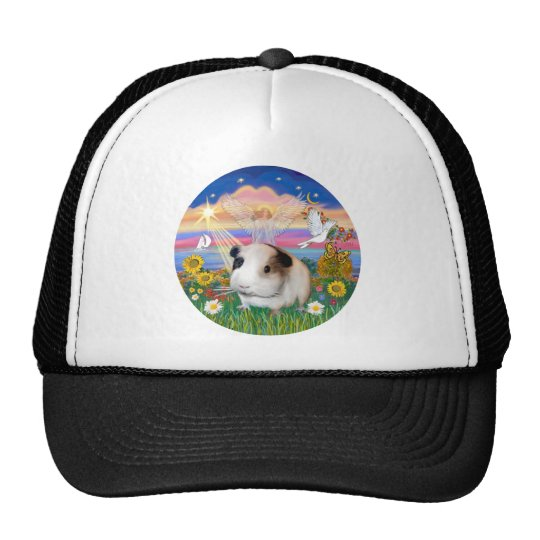 Autumn Angel - Guinea Pig 1 Trucker Hat