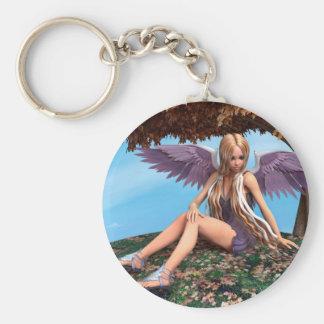 Autumn Angel Keychain
