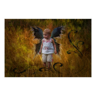 'Autumn Angel' Print