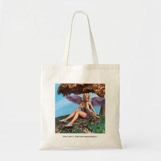 Autumn Angel Tote Bag