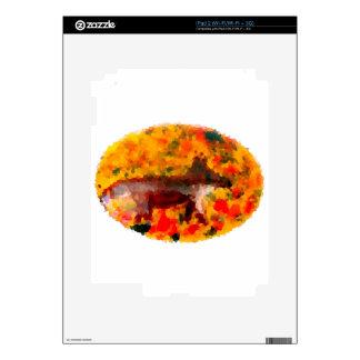 Autumn Animal Art Fox Decal For iPad 2