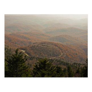 Autumn Appalachian Postcard
