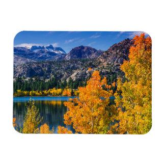 Autumn around June Lake, California Rectangular Photo Magnet