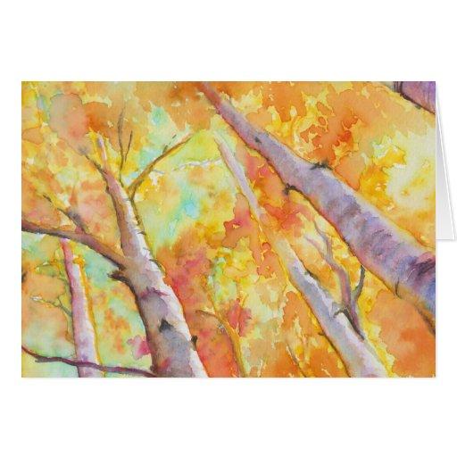 Autumn Aspens Cards