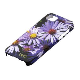 Autumn Asters Monogram Case-Mate iPhone 5 Case