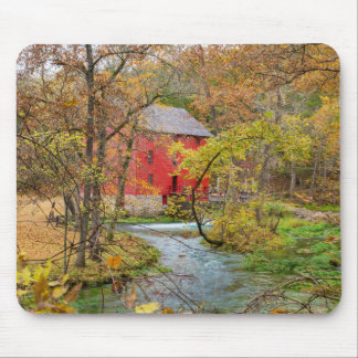 Autumn At Alley Mill Mouse Pad