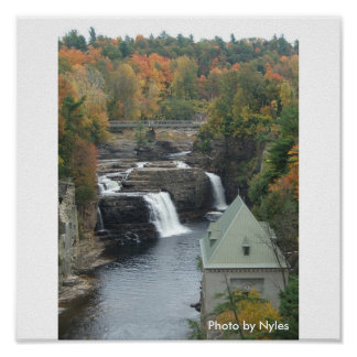Autumn at AuSable Chasm, NY Posters