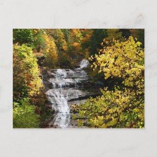 Autumn at Buttermilk Falls Postcards