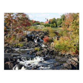 Autumn at Cargill Falls Postcard