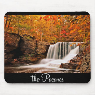 Autumn at Factory Falls Mouse Pad