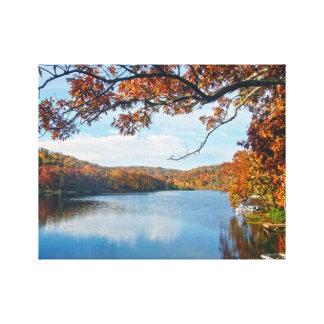 Autumn at Lake Killarney Canvas Print