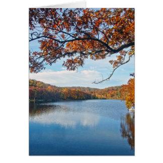 Autumn at Lake Killarney Card