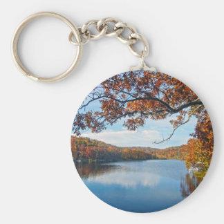 Autumn at Lake Killarney Keychain